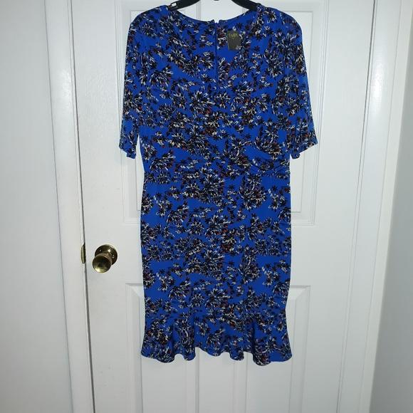 Midi foral dress